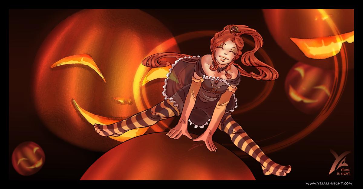 Saute-Citrouille pour Halloween