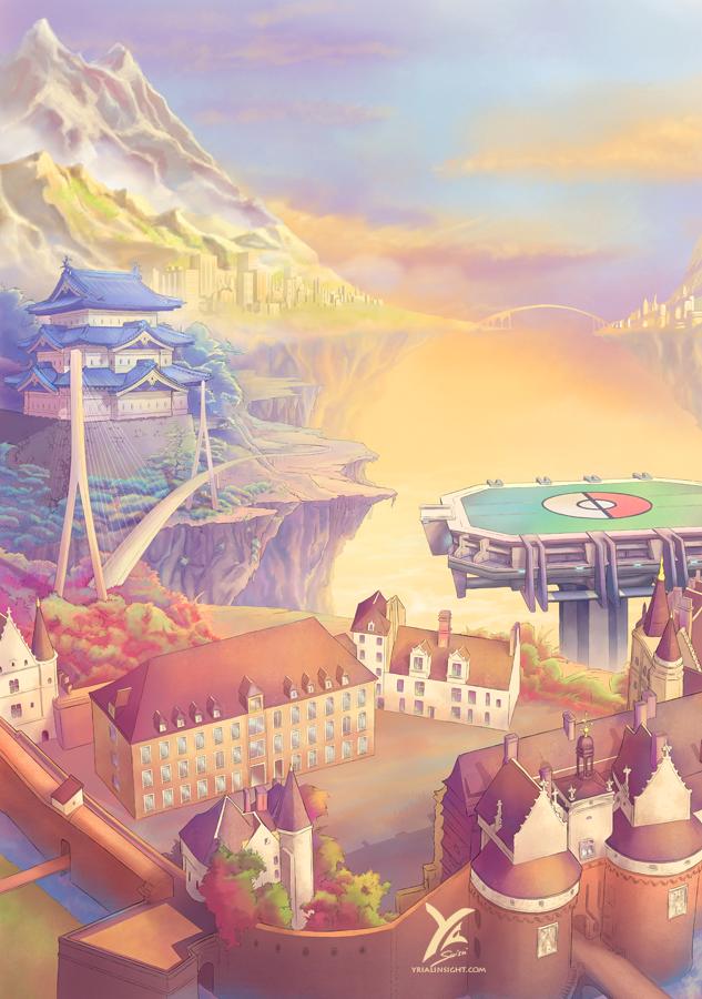 illustration du décor pour Wazabi Tournament
