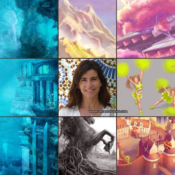 Yrial in Sight   art vs artist 2014   digital art - Saisei