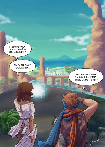 Parody of Prince of Persia, the game