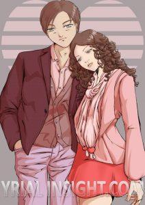 Mode et Amour, T@xice, couple 02