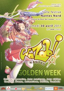 Affiche pour Wazabi 6 Golden Week
