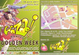 Flyer pour Wazabi 6 Golden Week