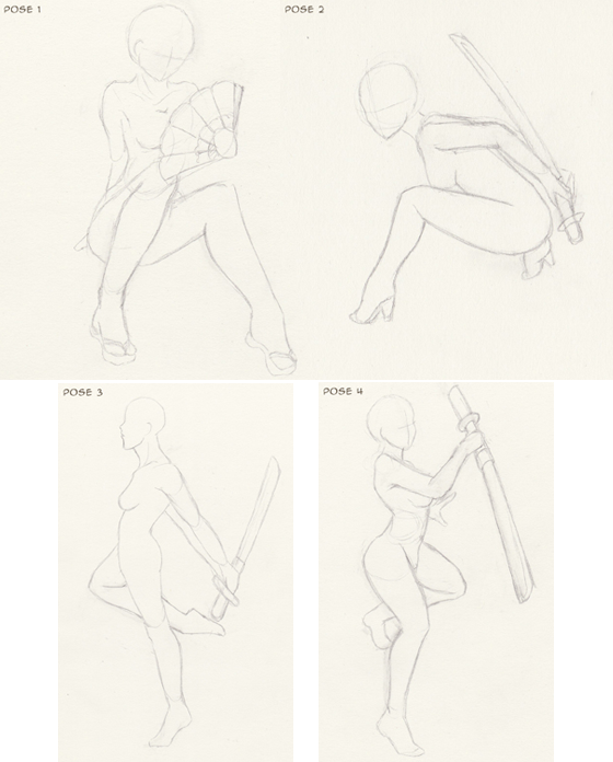 Commission-Wazabi-sketch-poses-base
