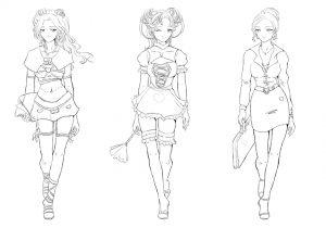 Stéréotypes féminins manga 01