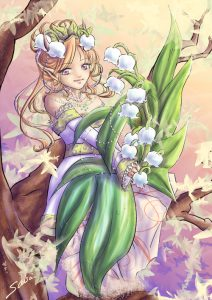 A blade of a Lily ? / Un brin de muguet ?
