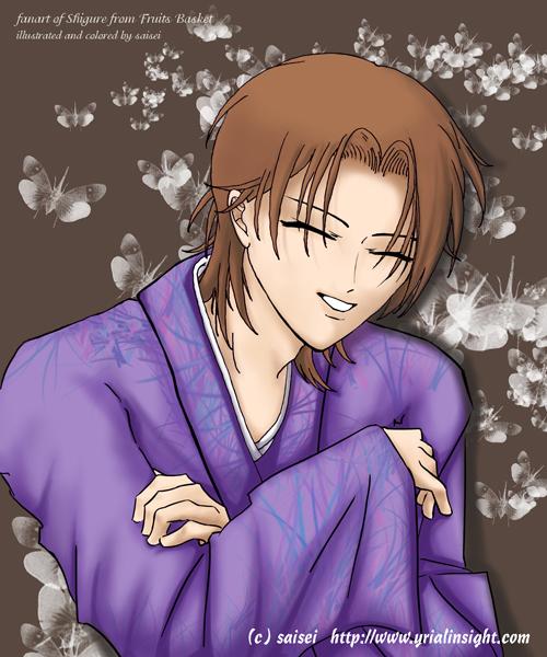 FanArt of Shigure from Fruits Basket