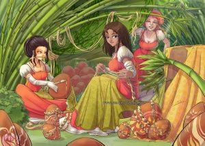 Les petites ouvrières de Pâques