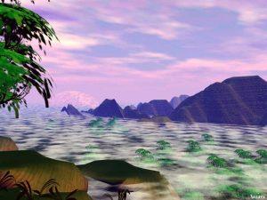 3D Landscape : Sleepy Valley
