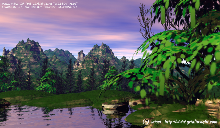 3D Landscape : Scenery