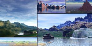 3D : Melting Pot of Several past and current landscapes