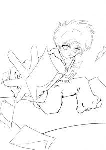Line Affiche Atelier Manga 01