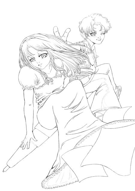 Line Affiche Atelier Manga 04