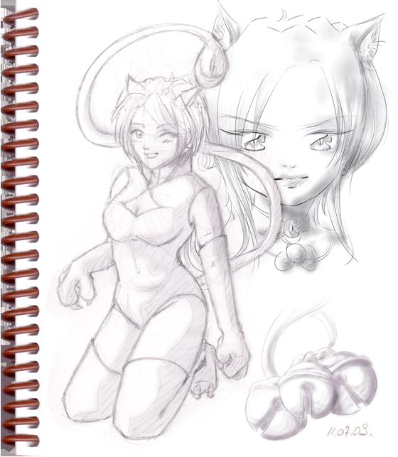 Sketch-Tiff01-NekoGirl