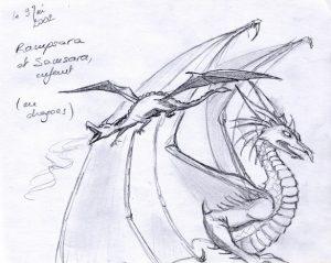 YrialsTale-Sampsara and Rampsara as Dragons