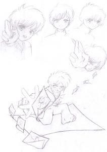 Croquis Affiche Atelier Manga 01
