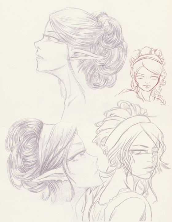 Sketch-coiffure-femme