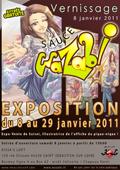 affiche-expo-vente-wazabi-kissasloft