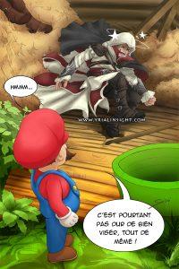 Parodie cross over Mario Assassins Creed