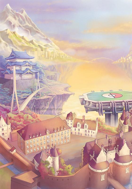 Les mondes en tournoi