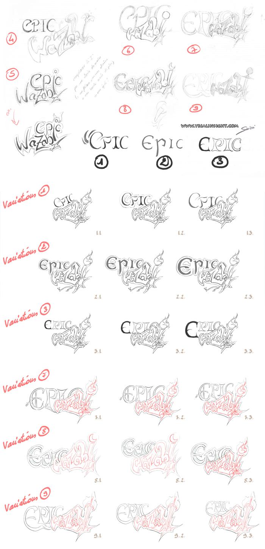 news-2015-06-10-epic-wazabi-logotype-ponctuel-croquis-recherches