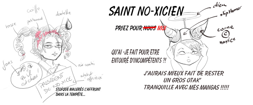 caricature No-Xice