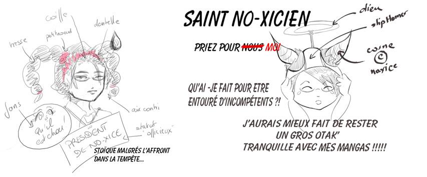 caricature No-Xice