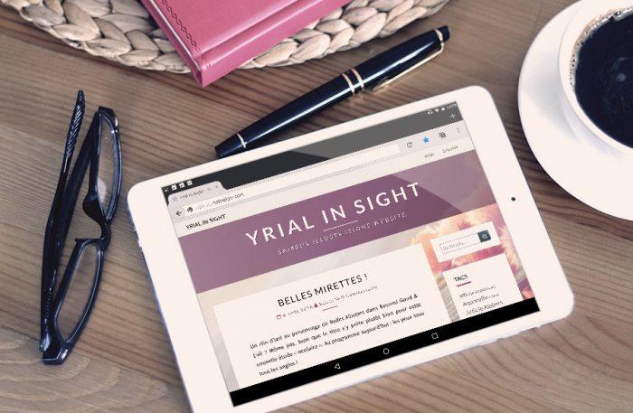 Blog - version tablette