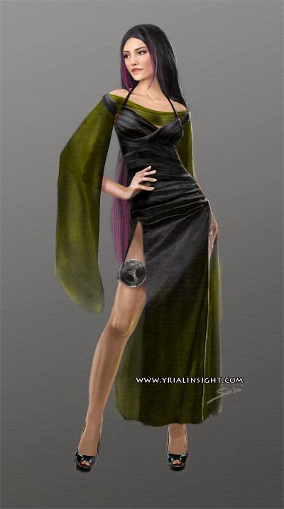 Costume 2 pour le personnage de Lila, JdR Vampire