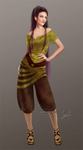 Costume 8 pour le personnage de Lila, JdR Vampire