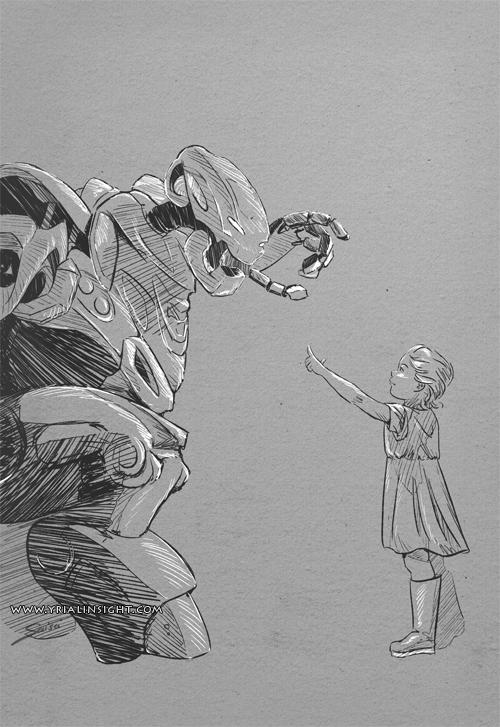 Titan et l'enfant