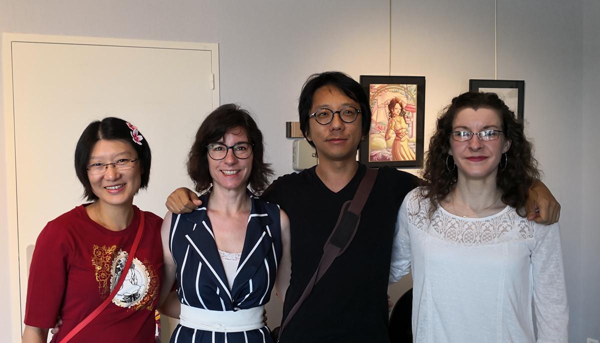 SuzieSuzy, Saisei, San Lee & Komori - manquent Ayleen et Elairin
