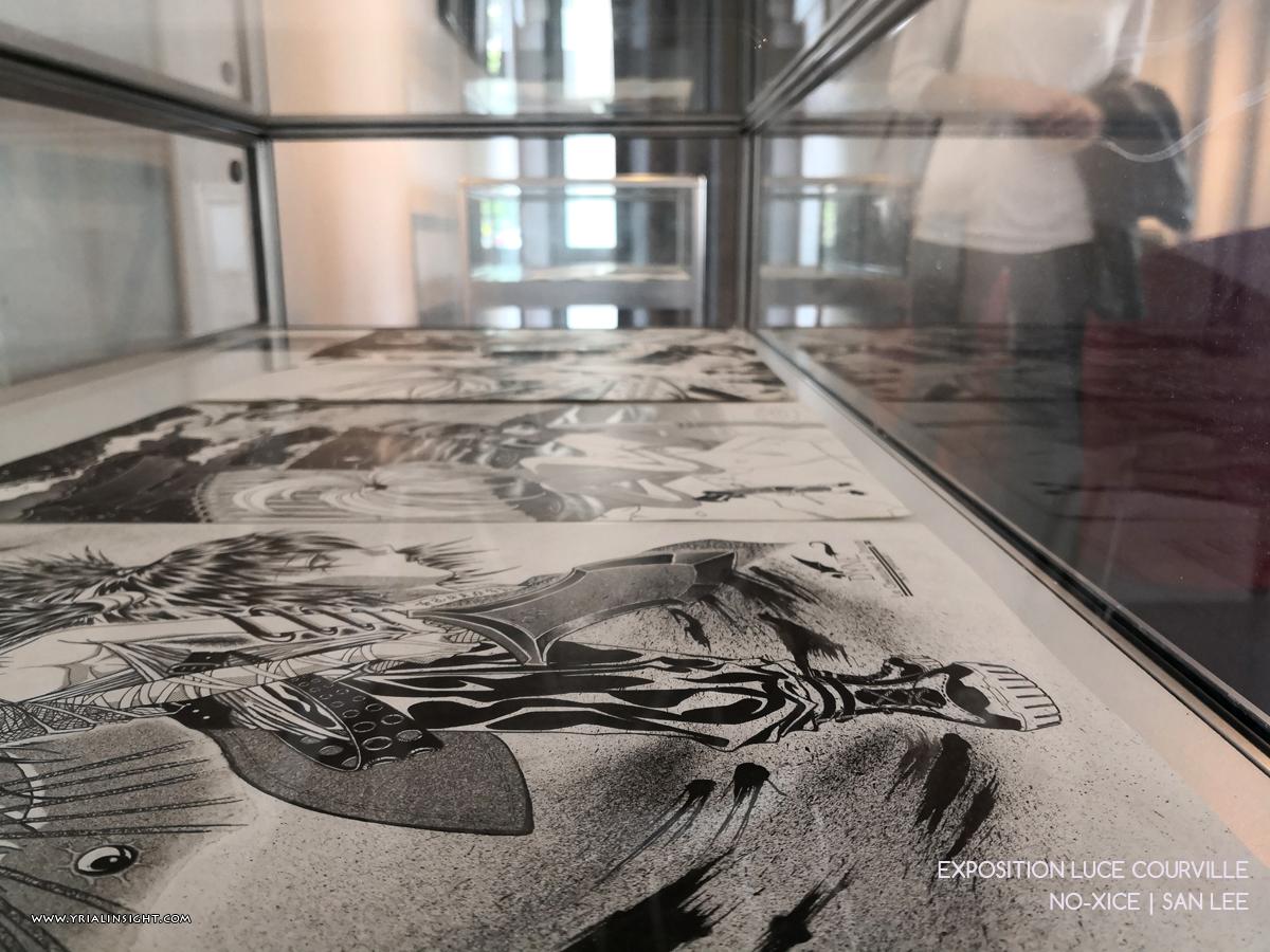 Planches originales de San Lee | No-Xice | Expo Luce Courville autour de MangAsia