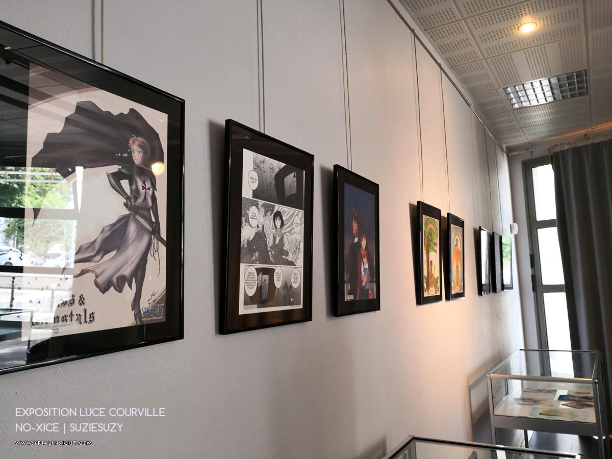 Œuvres de Suzie Suzy | No-Xice | Expo Luce Courville autour de MangAsia
