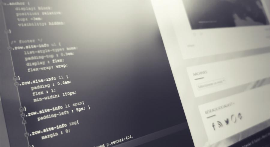 CSS et résultat web pour Yrial in Sight
