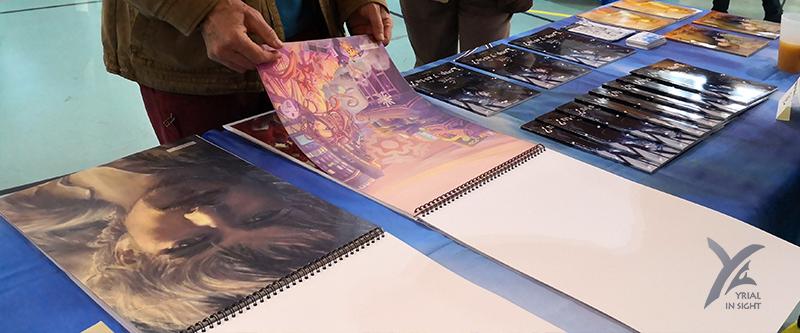 No-Xice© à Ancenis BD - artbook Winteries & manga d'auteur avec Loulou !