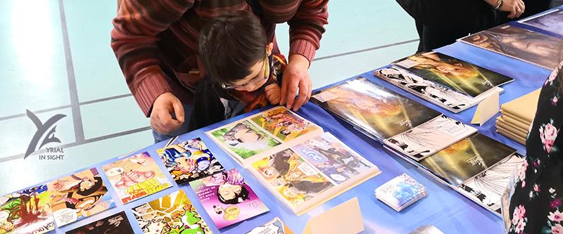 No-Xice© à Ancenis BD - les cartes parodiques suscitent toujours de l'intérêt !