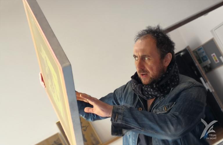 Le photographe Paquito Couet et la sérigraphie | Artistes et vous : Mai oui ! à Nantes